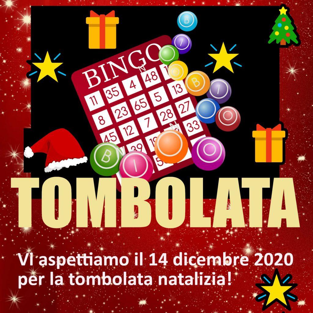 Logo Tombolata di Natale 14 dicembre 2020